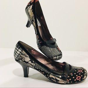 Steve madden patchwork low heel size 6